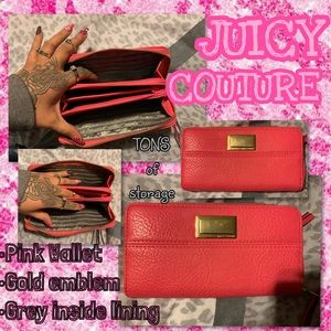 JUICY COUTURE pink Wallet